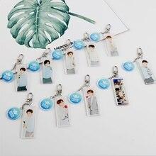 Cpop Nine Percent акриловый брелок держатель Idol производитель вентилятор Chengcheng You Zhangjing модная сумка Подвеска Шарм