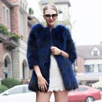 JKP 2018 New winter coat fashion Slim fight skin raccoon coat warm fashion coat sleeve solid color hot sales HPX 1029