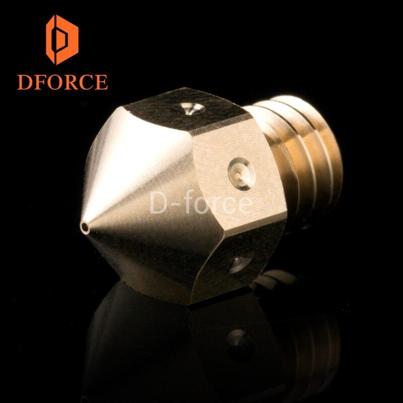 3PCS Top quality MK8 Nozzles for 3D printers hotend MakerBot Filament Head Brass Nozzles J-head extrusion 0.2/0.4/0.6/0.8MM 3d printer accessory brass nozzles 0 5mm mk8 makerbot golden 2 pcs