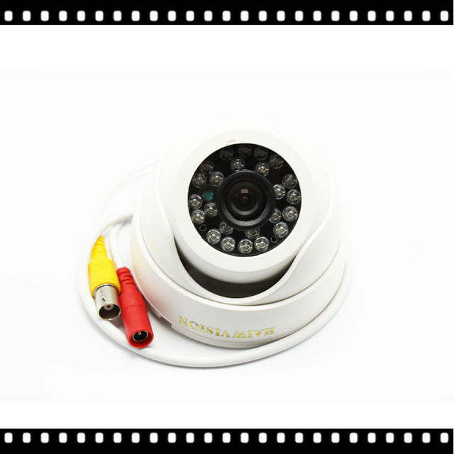 HD 2.0MP Mini Dome AHD Security CCTV Camera With 3.6mm Lens For 1080P AHD DVR