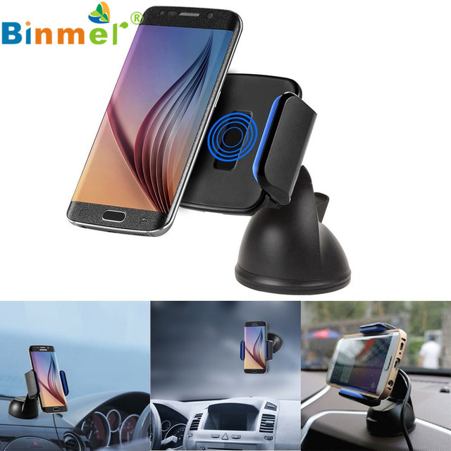 HL 2016 Qi Wireless Car Charger Transmitter Holder for Samsung Galaxy S7 / S6 for mobile phone SP28