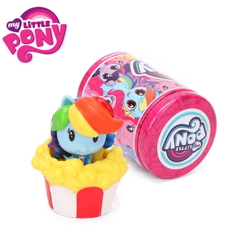 1 peças My Little Pony Brinquedos Cutie Mark Tripulação Mini Bonecas Pônei Friendship Is Magic Twilight Sparkle Rainbow Dash Figura presente de natal