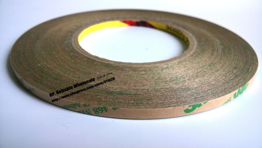 (5mm*55M*0.13mm), Original <font><b>3M</b></font> <font><b>200MP</b></font>, 468 MP High Performance Double Adhesive Tape for Phone Tablet Laptop Nameplate Bezel Bond image