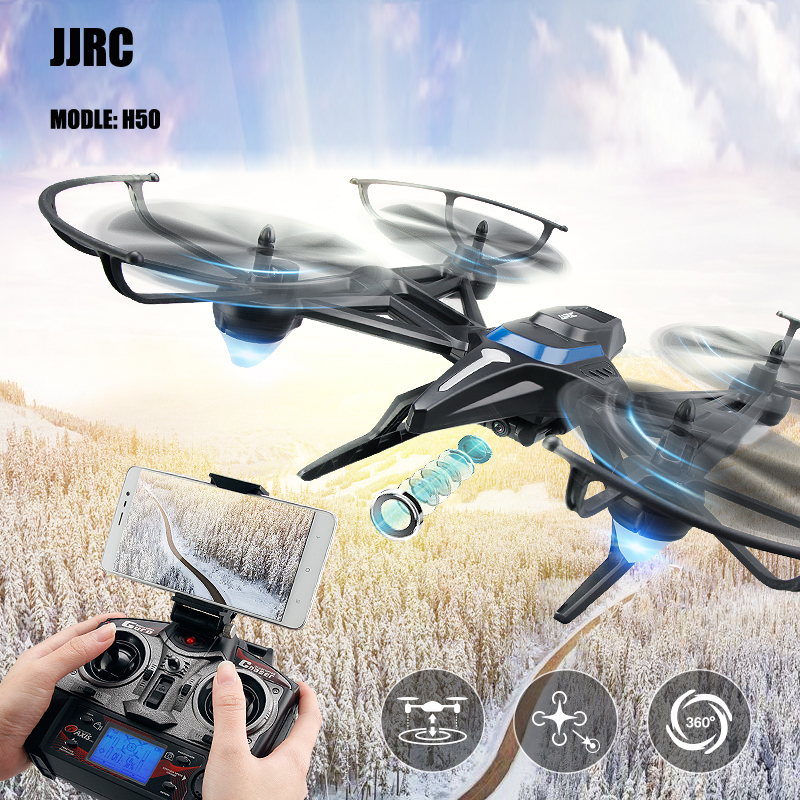 JJRC Original H50 H50CH 2 H50WH H50GH With 2M 720P HD WiFi Graphics Camera Remote Helicopter