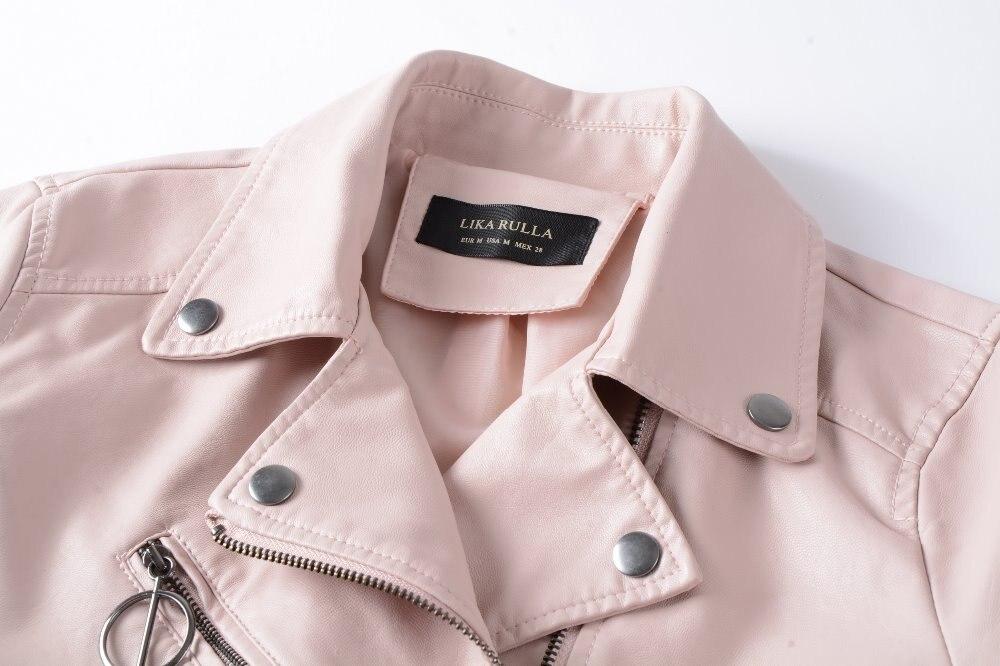 Neue 2019 frauen winter herbst neue kleidung marke mode schlank rosa - Damenbekleidung - Foto 4