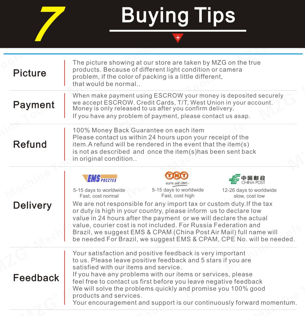 7.Buying Tips
