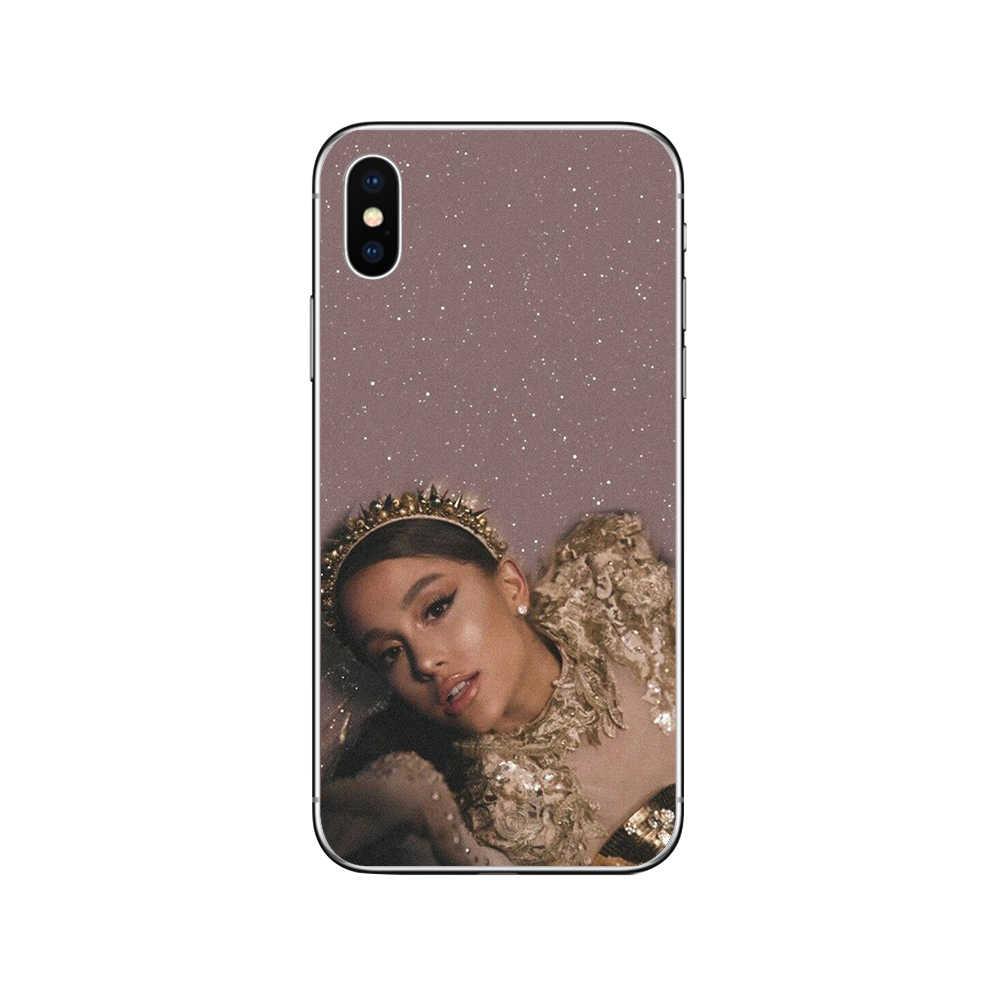 Ciciber ฝาครอบ Ariana Grande สำหรับ Iphone 7 8 6 6S Plus 5 5S SE 11 Pro Max Soft TPU เคสโทรศัพท์สำหรับ Iphone X XS MAX XR Fundas Coque