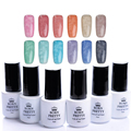 BORN PRETTY Fur Effect Gel Polish 1 Bottle 5Ml Soak Off Nail Art UV Gel Polish Winter Style Manicure 12 Colors