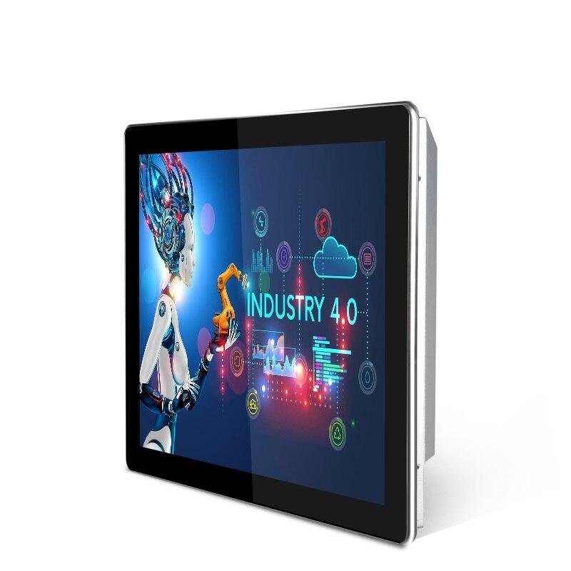 15 дюймов промышленных управление планшеты сенсорный экран компьютера встроенный дисплей для библиотеки банк игр с оконные рамы 7 8 XP Linux