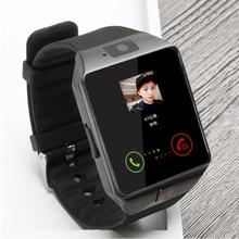 Venta grande bluetooth smart watch reloj de sim soporte de tarjeta tf para Cámara de un Teléfono Android y IOS Podómetro BT Llamada DZ09 pk GT08