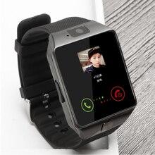 Большая Распродажа Bluetooth Smart Watch Поддержка SIM TF Карта Наручные Часы для Android и IOS Телефон Камеры Шагомер BT Вызова DZ09 pk GT08