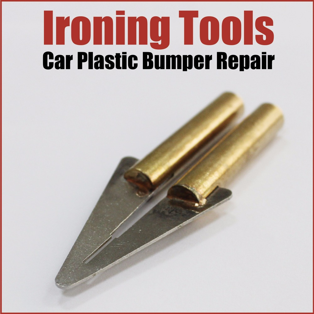 station soldering iron tip car plastic bumper repair tools hot stapler staples smoothing melting ironing car body works welding