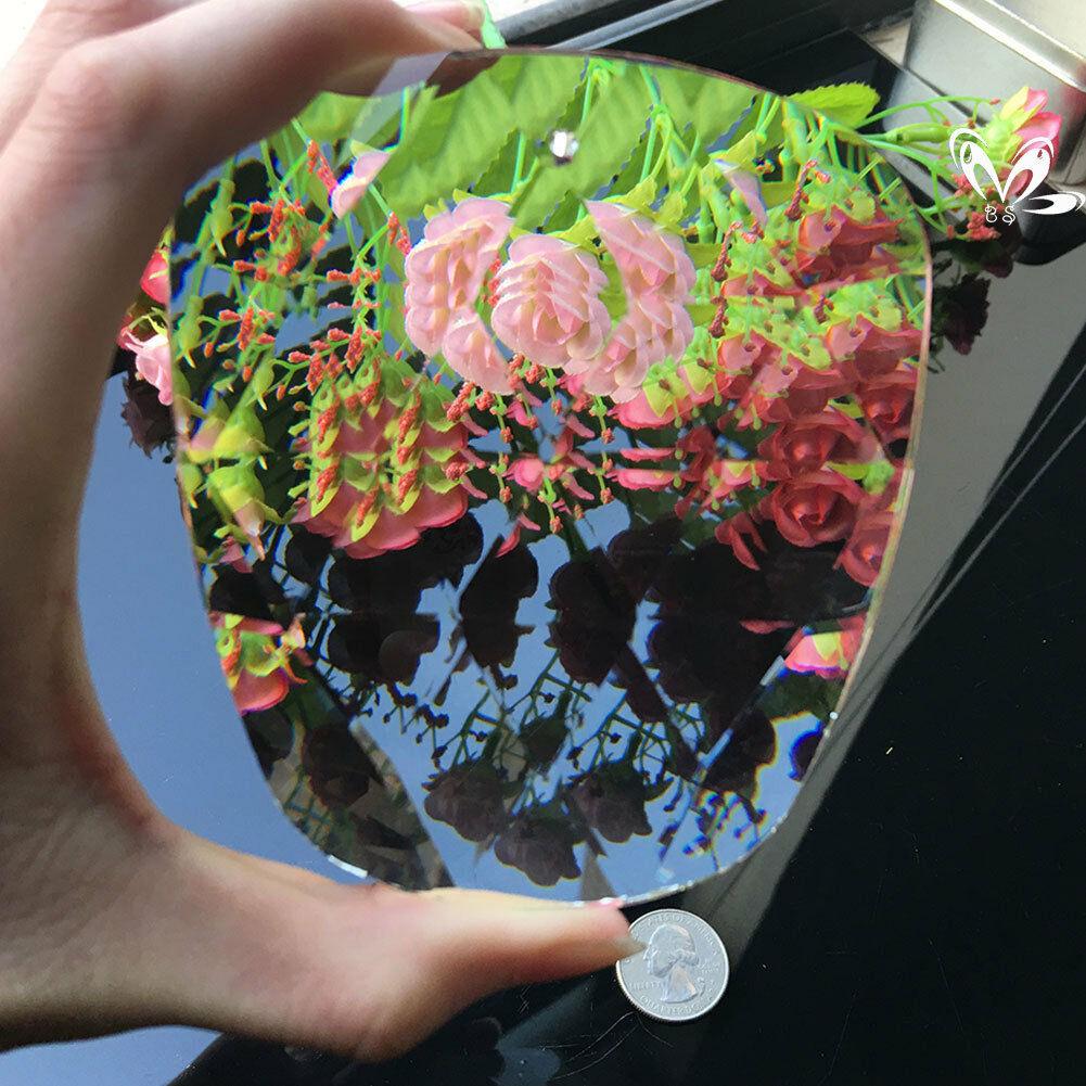 Giant 100MM Apple Faceted CRYSTAL Glass Art Prisms Chandelier DIY Pendant Decor SUNCATCHER Hanging Ornament