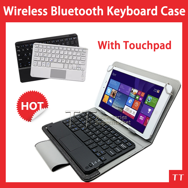 Universal Wireless Bluetooth Keyboard mouse touchpad Case for teclast X80 plus x80hd x80h Bluetooth Keyboard Case+free 3 gifts computer hardware