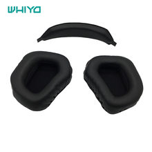 Whiyo 1 pair of Ear Pads Cushion Cover Earpads Replacement Cups Pillow for MADCATZ F.R.E.Q. 3 5 7 9 TE Headphones(China)
