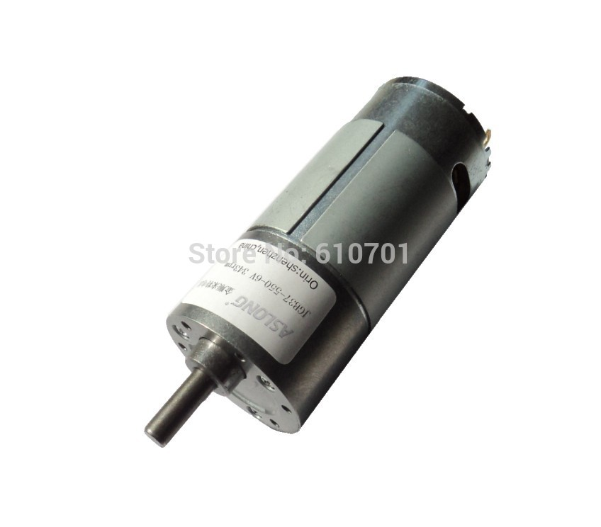 3V-12VDC High Power Rotate Speed Reduction Electric DC Geared Motor JGB37-550 12V 2080/1300/691/433/232/144/99/77/47/25/16RPM
