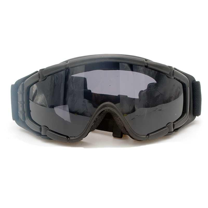FMA Black Cooler Fan Version Black Outdoor Paintball Airsoft Glasses SI Ballistic Goggle Update Version Eyecare