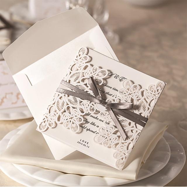 12Pcs DIY Ribbons Free Printable Engagement Party Invitations ...