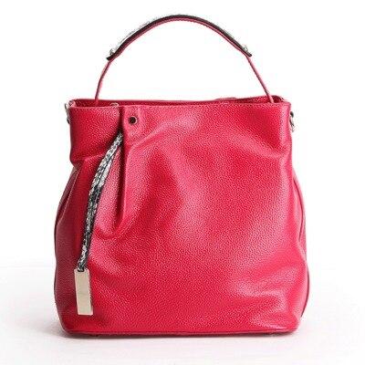 2018 spring summer women genuine leather tote handbag female cowhide one shoulder bag girl real leather messenger crossbody bag