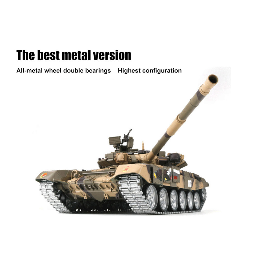 For HengLong RC Tank 1/16 Upgraded Plastic Russian T90 Remote Control Tank  Model Tracks Sprockets 3938 Battle Gifts For Kid Truck Rc Cars Remote Cars
