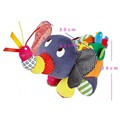 Детские Активность Игрушки Ребенка Большой Слон Коляска Погремушки Mobiles Детские Brinquedos Образовательных плюшевые Игрушки Для Малышей