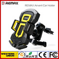 Remax Car Air Vent Mount Holder Car Install Mobile Bracket 360 degree Rotate Hands Free Safe Driving GPS Navigation Car Stand