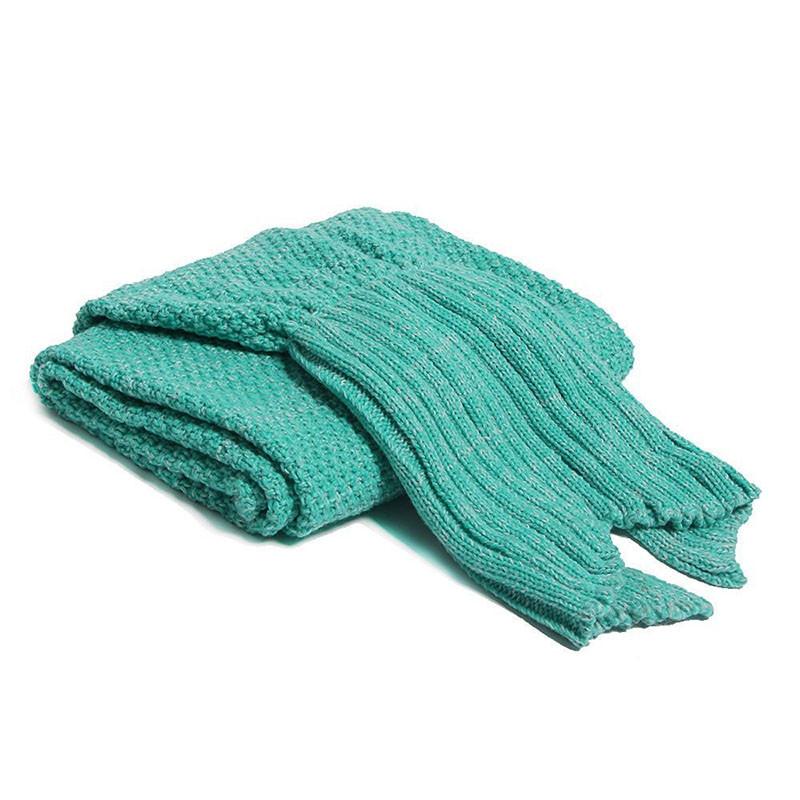 HTB11ILmOXXXXXaQXXXXq6xXFXXXm - Mermaid Blanket Handmade Knitted Sleeping Wrap PTC 70