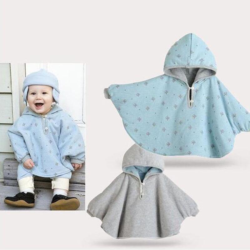 CN Ny baby klær Spring Autumn Hooded jakke Både foran og bak kan - Baby klær