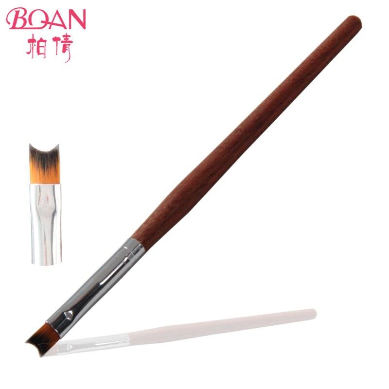8# BQAN Factory Direct Newest Rosewood Handle Nail Art French Nail ...
