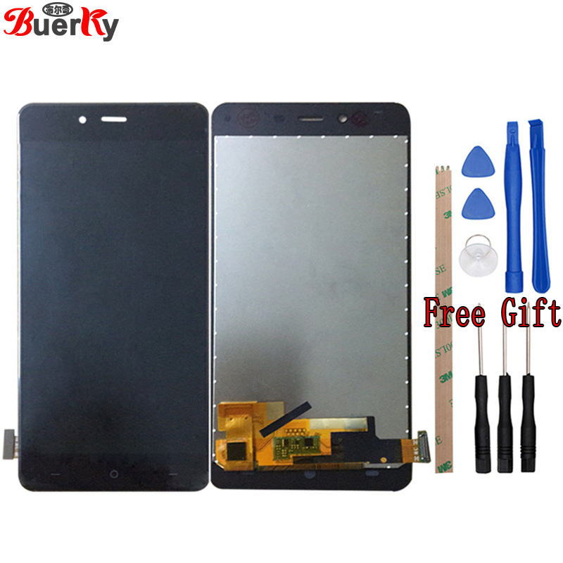 BKparts Tested For Oneplus X E1003 E1001 LCD Display Touch Screen Glass For One Plus X 1+ LCD Digitizer Complete Assembly