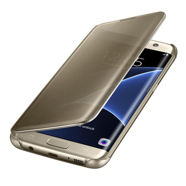 afad935becc Carcasas Fundas For Samsung Galaxy S6 S7 Edge S8 S9 Plus Fashion Design  Acrylic Phone Shell Quality Luxury Mirror Slim Case Cove
