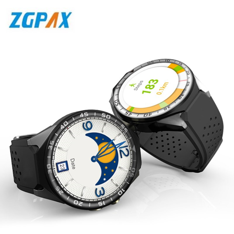 ZGPAX S99C android 5.1 OS Smart watch electronics android 1.39 inch MTK6580 SmartWatch phone support 3G wifi nano SIM WCDMA ot03 best kw88 android 5 1 os smart watch 1 39 inch scrren mtk6580 smartwatch phone support bluetooth 3g wifi nano sim wcdma