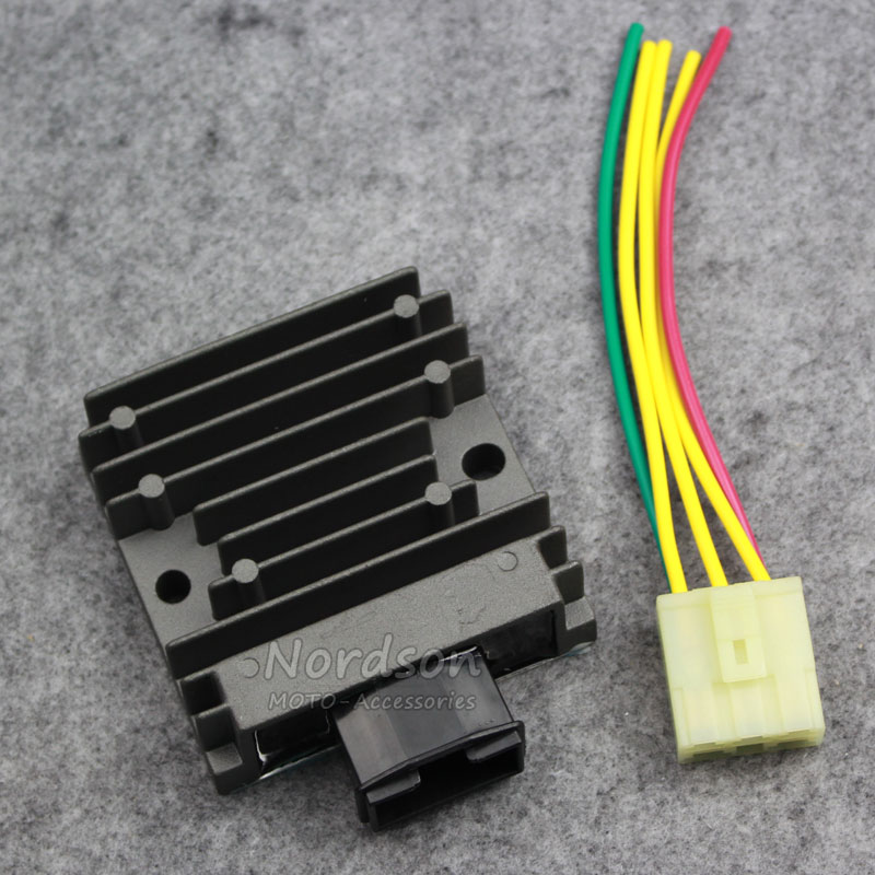 New Motorcycle 12v Voltage Regulator Rectifier For Honda