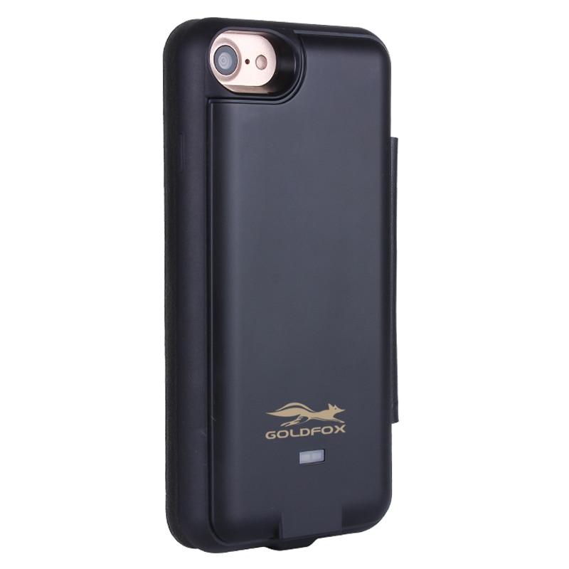Goldfox Solar Power Batteria Case For Iphone 6/6s/7 Rechargeable Battery Charger Case For Iphone 6 Plus/6s Plus/7 Plus Charger Battery Charger Cases Phone Bags & Cases