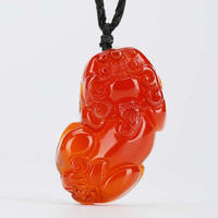 red brave troops pendant lucky animal pendants 36*22*5mm