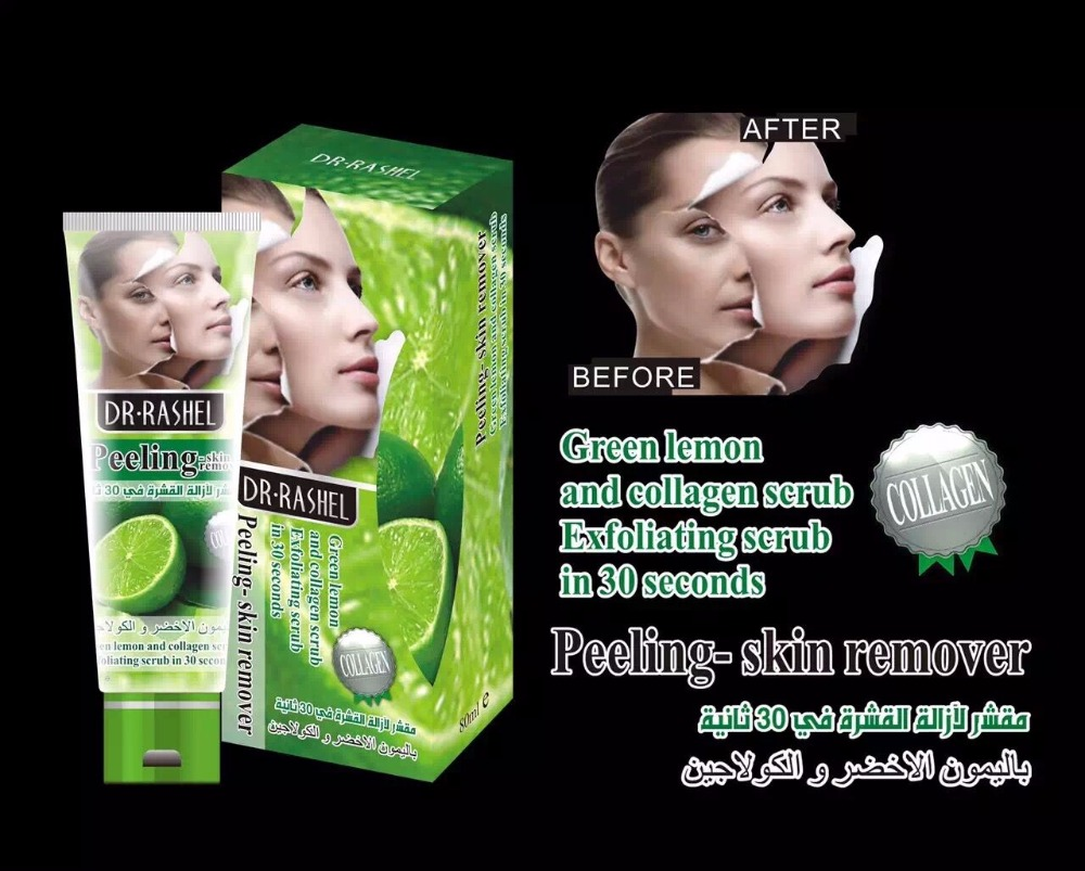 Hot Sale Dr.rashel Peeling Exfoliating Facial Scrub Peeling Dead Skin Face Care Remover In 30 Seconds Dr.rashel 80 Ml