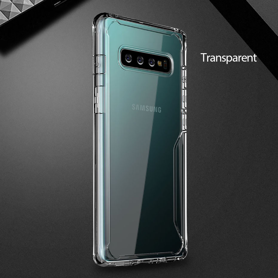 LUPHIE Shockproof Case For Samsung Galaxy S10 Plus Transparent Case (15)