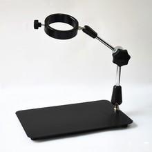 Sale Universal 75mm Mounting Adjustable Binocular Microscope Stand Holder Boom Mount