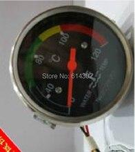 OEM parts water temperature gauge for weifang 495/4100D/ZD/P/ZP series diesel engine /generator