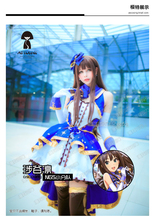 THE IDOLM STER CINDERELLA GIRLS Rin Shibuya Night Party Dress Cos Stage Women Cosplay Costume Outfit Headdress+dress+gloves