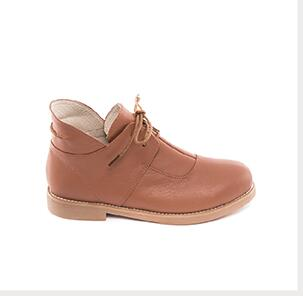 Free shipping,2016 new Autumn and winter England style genuine leather flat female boots classic simplicity retro short boots