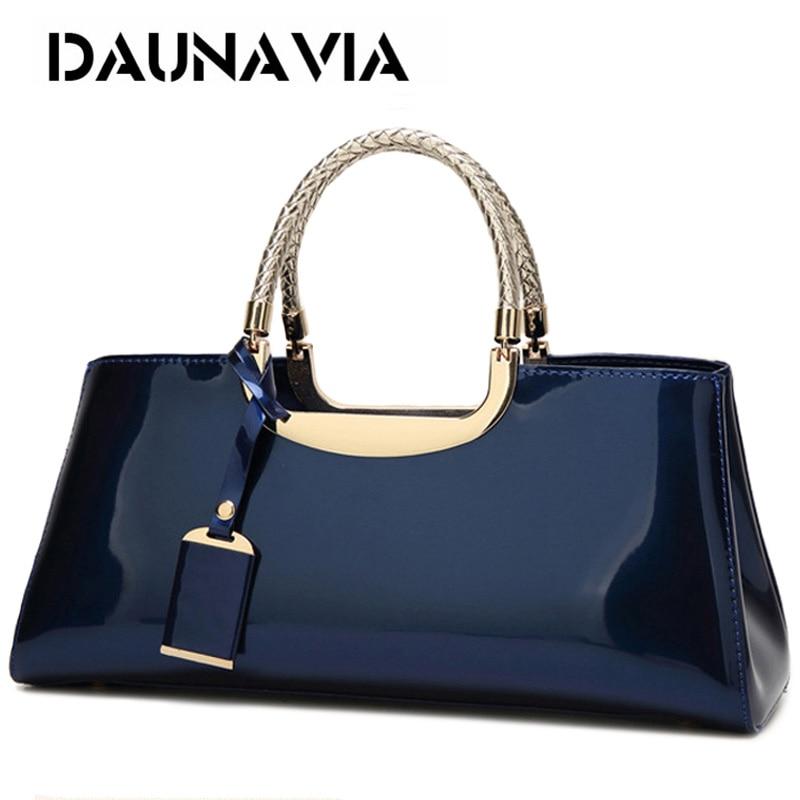DAUNAVIA Brand High Quality PU Leather Women Bag Female Travel Shoulder Tote Italian Leather Handbags Sac A Main Femme Bags