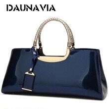 Фирменные женские сумки DAUNAVIA из высококачественной искусственной кожи, Женская дорожная сумка тоут через плечо, итальянские кожаные сумки, женские сумки