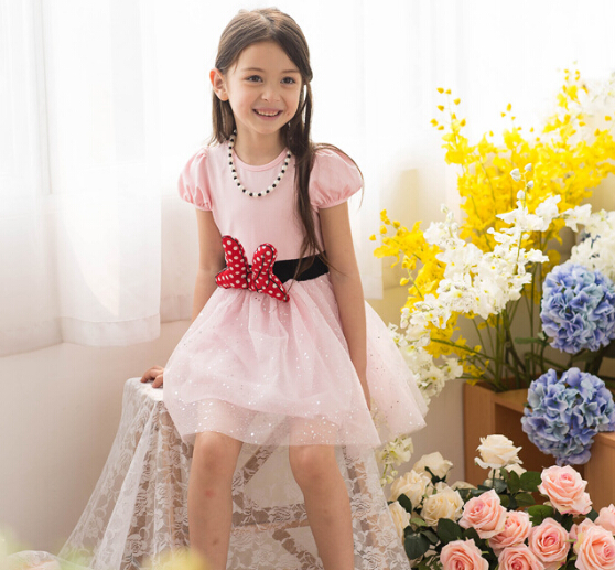6670 New Elegant Party Wear Kids Clothing Summer For Children s Dresses new arrival font b