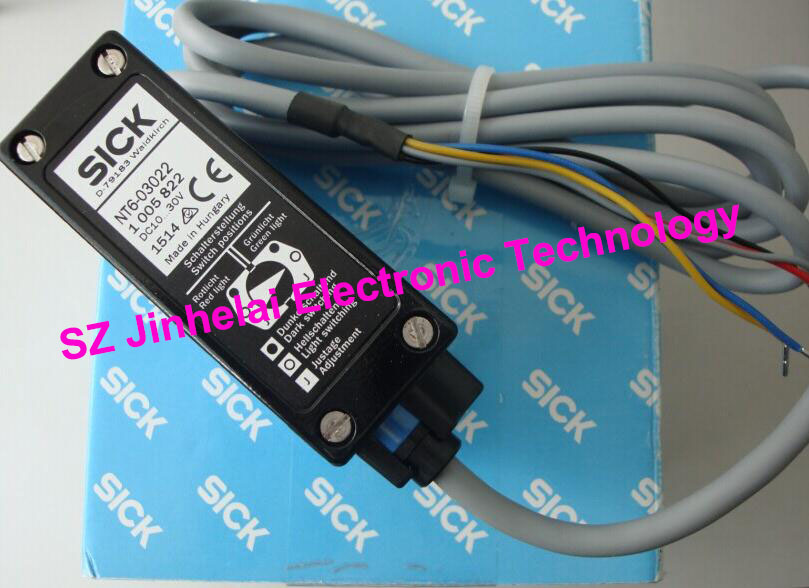 New and original  NT6-03022  SICK  Color code sensor  DC10-30V color ring inductance 0307 3 9uh a03073r9 color code 20