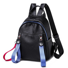 Fashion Women Backpack High Quality Youth Leather Backpacks for Teenage Girls Female School Shoulder Bag Bagpack mochila PB08