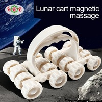 Roller C07 Massager Sixteen Wheel Liniversal Massage Instrument Space Vehicle Roller Whole Body Massage