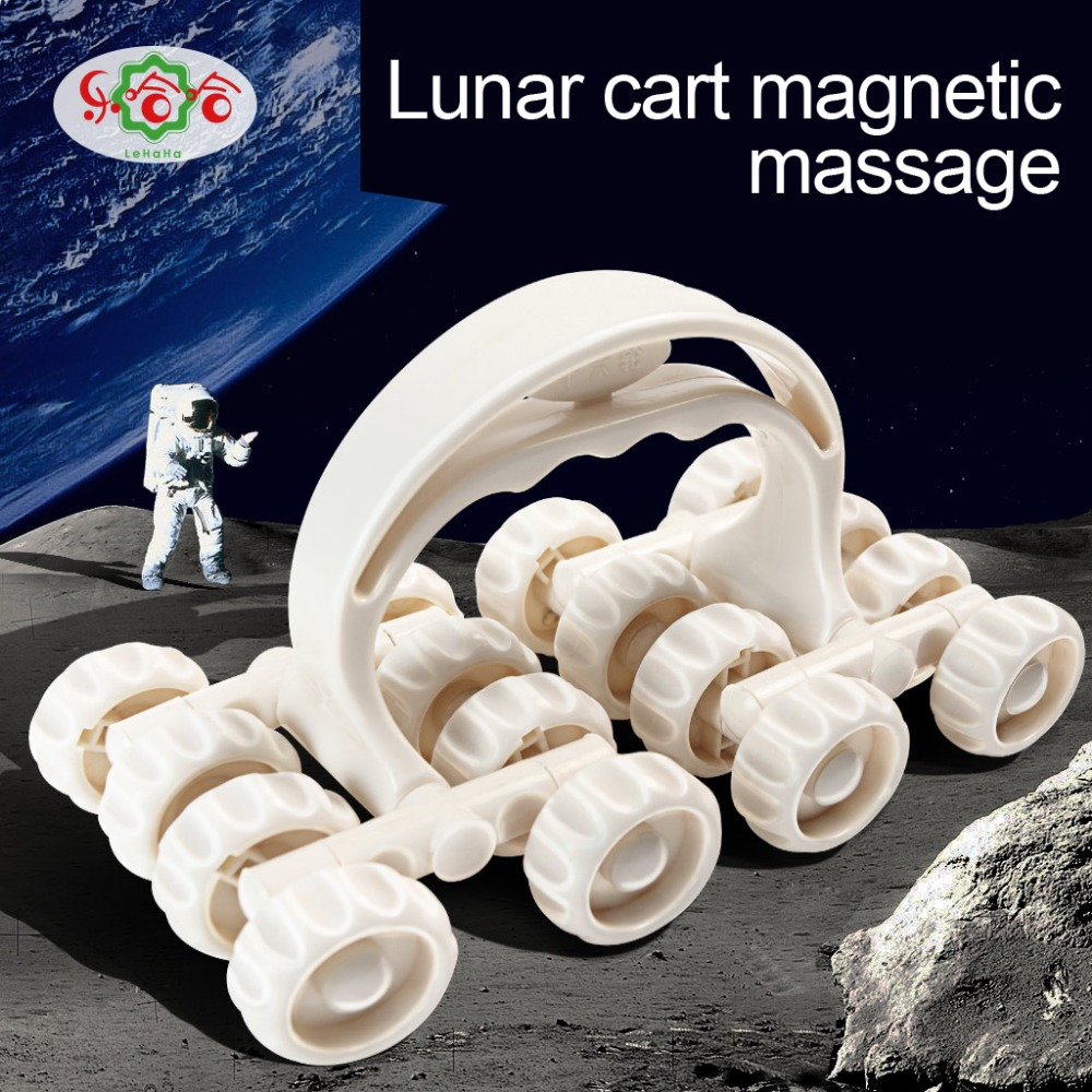 Roller c07 Massager Zestien-wielen Liniversal Massage-instrument Space Vehicle Roller Whole Body Massage