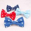 Plaid Fashion Print Niño Pajarita Unisex Dots Baby Boy de dibujos animados de Cuello Pajarita Corbata Corbata Flaca Para Trajes de Cinco Estrellas Bowtie