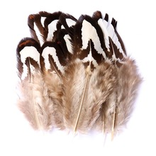 Top Selling 30 Chicken Feathers Nest Natural 4-7CM Wedding Dresses DIY Fluffy Crafts Decorations